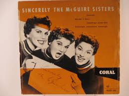 mc guire sisters ep sincerely rhythm u0027n u0027 blues something u0027s