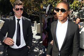 Seeking Robin Robin Thicke And Pharrell S Lawyers Are Seeking A New Blurred