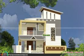 double floor small home kerala home design and floor plans two