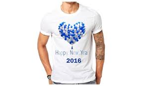 new year t shirts up to 46 on happy new year 2016 t shirt groupon goods
