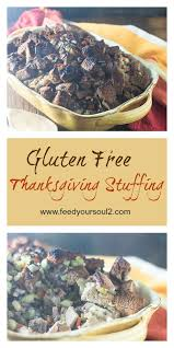 gluten free thanksgiving feed your soul