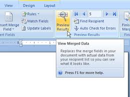 mail merge from excel word 2007 mail merge u2014 step 5 the final merge dummies