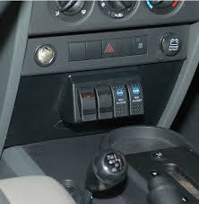 jeep wrangler light switch daystar driven by design