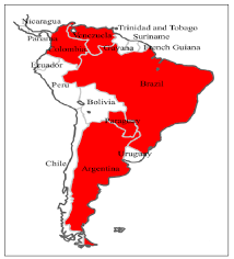 where s countries of south america where s rebaudiana grows grows