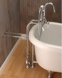 Clawfoot Tub Faucet With Shower Clawfoot Tub Freestanding Gooseneck Faucet U0026 Hand Held Shower Combo