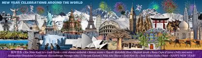 new year celebrationsaround the globe purple suitcase