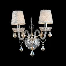 Two Light Wall Sconce Luxurious Two Lights Wall Sconce Adorned With Graceful Scrolling