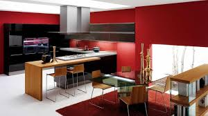 free red style kitchen design pictures free small modern ideas