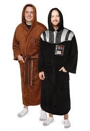 robe de chambre wars jedi darth vader fleece robes thinkgeek