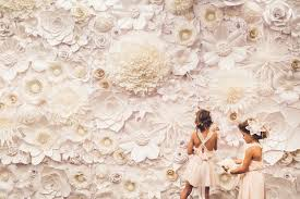 wedding backdrop rental vancouver paper flowers