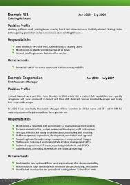 Food Service Job Resume by Examples Of Resumes It Resume Samples 2016 Cto Regarding Outline