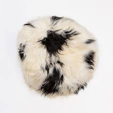 sheepskin bean bag spotted hides of excellence