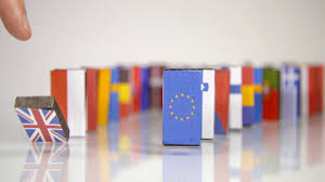 Country Flags Small The Eu Dominos Fall Flags Of European Countries Like A Domino