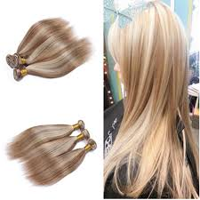 weave hair extensions mixed piano color hair weave bundles silky