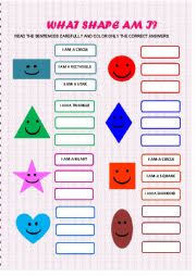 english worksheets the shapes worksheets page 14