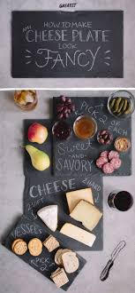 chalkboard cheese plate make a cheap cheese plate that looks fancy brie cheese