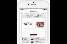 electronic gift cards nordstrom gift cards from cashstar