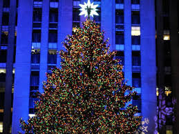 rockefeller tree lighting center lights up