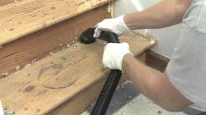 Stair Laminate Flooring How To Install Cap A Tread Stair Renewal System Youtube