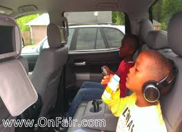 toyota highlander dvd headrest autotain car headrest dvd customer testimonial 2007 toyota tundra