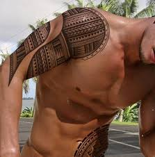 polynesian yes is he included tattoos