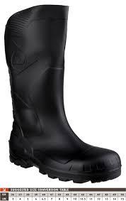 dunlop devon 3 4 length wide calf steel toe safety s5 rubber