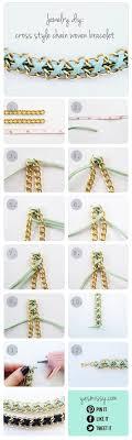 woven bracelet with cross images Diy bracelet cross style chain woven bracelet yes missy a jpg
