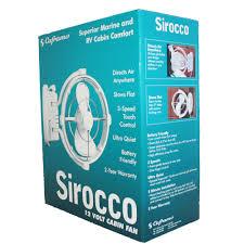 12 volt marine fans sirocco caframo lifestyle solutions