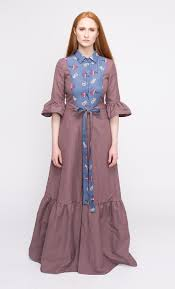 linen dress long linen dress maxi dress country style dress