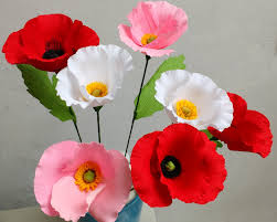 flower images how to make paper flowers poppy flower 80 youtube