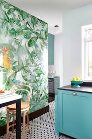 contemporary kitchen wallpaper ideas kitchen wallpaper intended for housestclair com