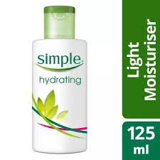 simple hydrating light moisturizer simple hydrating light moisturizer 125ml lazada ph