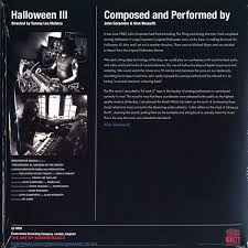 John Carpenter U0026 Alan Howarth Halloween Iii Season Of The