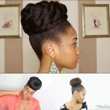 black hair buns 4 simple faux bun styles for any natural hair length bglh