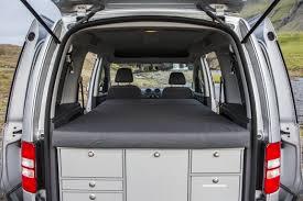 mini motorhome special vw caddy campervan