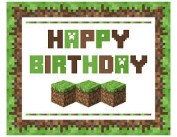 minecraft birthday invitations free minecraft printables catch my party