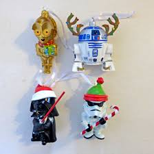 hallmark disney star wars christmas tree 2 1 2 3 ornament set