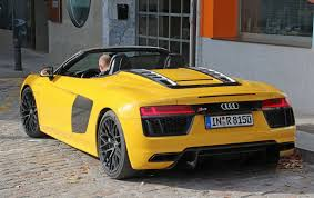 audi r8 an open and shut case new audi r8 spyder scooped undisguised by
