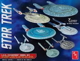 star trek model kits 1 2500 scale enterprise box set collector