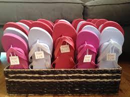 flip flop wedding favors flip flops for wedding guests by rosesdetails on etsy 250 00