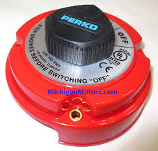 perko marine dual battery selector switch for boat rv motor