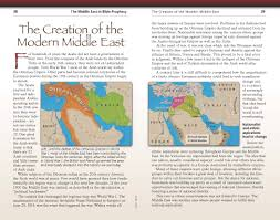 Biblical Map Of The Middle East by Bible Prophecy Middle East United Church Of God Australia