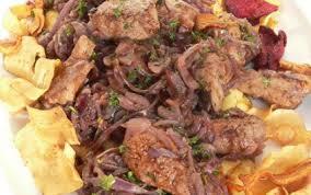 cuisiner du foie recette foie de veau à la vénitienne 750g