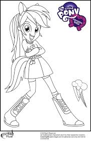 my little pony coloring pages of rainbow dash my little pony coloring pages rainbow dash human http east color