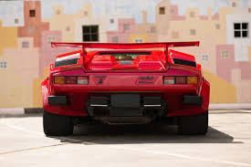 used lamborghini this used lamborghini countach 5000 qv is right on so many levels