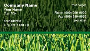 Lawncare Business Cards Template At104257 Lawn Mowing