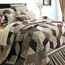 california king quilts and coverlets burgundy bedding rustic bedroom comforter sets burgundy green