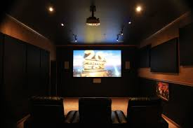 home theater 4k projector home theater package media room installation in carrollton tx