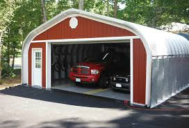 Building A Two Car Garage Protect Your Vehicles With A Steel Building Garage Steel