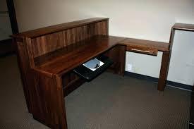 Small Oak Computer Desk Small Oak Desk Bethebridge Co
